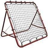 FAMIROSA Fußballtornetz Einstellbar 100 x 100 cm