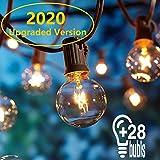 OxyLED Lichterkette Außen,Lichterkette Gluehbirne Aussen,[Verbesserte Version] G40 25FT...