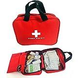 OnePine Tragbare Erste-Hilfe-Tasche Mini Erste Hilfe Kit,100 Stück Survival Emergency Erste Hilfe...