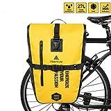 HIKENTURE Fahrradtasche für Gepäckträger, Gepäckträgertasche Fahrrad 27L, Fahrradtaschen...