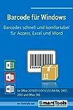 Barcode fr Windows - Barcodes mit Excel, Access und Word - fr Etiketten, Serienbriefe, Formulare...
