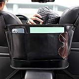 UooEA Car Mesh Bag Handtaschenhalter, Organizer aus weichem Leder und Brieftaschenhalter mit...