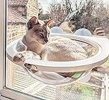 Pecute Katzen Fensterplatz Hngematte fr Katze Raumkapsel, Katze Fenster Barsch,kostenlos natrliche...