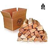 60kg (2x30kg) Kaminholz Brennholz 25cm 100% reine Buche, ofenfertig, Kaminofen, Lagerfeuer,...
