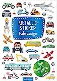 Metallic- und Glitzerspaß: Metallic-Sticker Fahrzeuge: Über 200 Super-Glanz-Sticker
