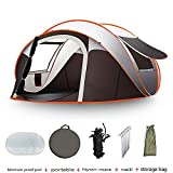 Strnry Camping Automatische Pop Up Zelt 5-8 Person Tragbare Falten Outdoor Schnellöffnende...