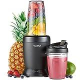 VonShef Personal Blender Multifunktionaler, leistungsstarker Smoothie-Mixer für Obst, Gemüse,...