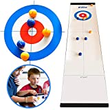 Yunhigh-uk Curling Game Set fr Kinder Erwachsene, Bowling Ball Kit Lustige Tischspiele fr Tabletop...