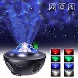 LED Projektor Sternenhimmel Lampe mit Fernbedienung Starry Stern...