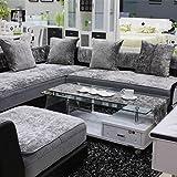TY&WJ Plüsch Anti-rutsch Sofabezug Wohnzimmer Sofabezug Outdoor Couch-abdeckungen Möbel Protector...