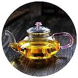 Teekannen Glasblume Haushalt Filtern Blumen Moderne, Großvolumige Boiling Offene Flammen Heizung,...