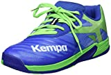 Kempa Unisex-Kinder Wing 2.0 JUNIOR Handballschuhe, Grün (Azur/Vert Printemps 01), 35 EU