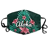 shifeiwanglu Windproof Aloha,Mouth Unisex Printed Fashion,Face,Anti-dust