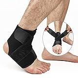 Hually Knöchelbandage Verstärkung Fußbandage für Damen und Herren, Linke und rechte Füße,...