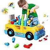 HOMOFY multifunktionale Konstruktion auseinander nehmen Spielzeug,Werkzeug Lastwagen für Kinder...