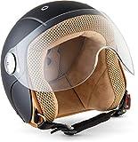 """Soxon® SK-55 """"Night"""" · Kinder Jet-Helm · Motorrad-Helm Kinder-Helm Roller-Helm Kids..."""