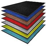 casa pura Premium Fußmatte in attraktiver Optik   Schmutzfangmatte in vielen Größen   rot  ...