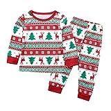 Strungten Weihnachten Baby Kleidung Set Kinder Pullover Pyjama Outfits Set Familie Kinder Baby Boy...