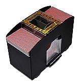 Dough.Q Kartenmischmaschine 4 Decks Elektrische Mischmaschine als Kartenmischgerät...