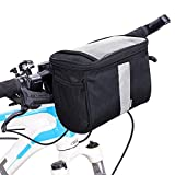 Betuy Fahrrad Lenkertasche Wasserdicht, 3.5L Fahrradtasche Handy Rahmentasche Gepäckträger Tasche...