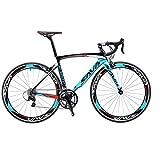 SAVADECK Warwind3.0 Carbon Rennrad 700C Kohlefaser Rahmen Fahrrad mit Shimano SORA R3000 18-Fach...