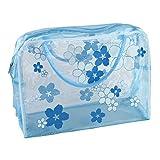 quanju cheer Reise-Kosmetiktasche, tragbar, wasserdicht, Blumen-Design, für den täglichen Gebrauch...
