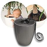 reer Pflanzenschutz-Netz für Blumentöpfe bis 30 cm Durchmesser, damit Dein Kind keine Blumenerde...