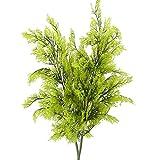 Nahuaa 2pcs Künstliche Zypresse Pflanzen Zweige Kunstpflanzen Groß Unechte Plastik Pflanze...