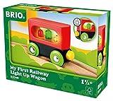 BRIO World 33708 - Mein erster Waggon mit Licht, bunt