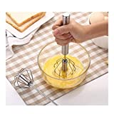 NOLOGO Yg-ct 1PC heißer verkaufender Edelstahl-Spiralbesen Küche Ei-Klopfer-Werkzeug Creme Rühren...