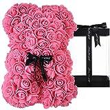 Rosen Teddybär, Rosenbär, Geschenke für Mütter, Frauen, Teenager, Geschenke, Muttergeschenke,...