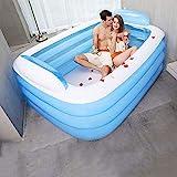 ZHKGANG Aufblasbarer Pool Verdickt Erwachsenen Isolation Pool Doppel-Badewanne...