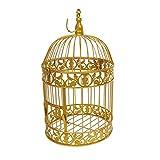 ZGRZ Mode, antike dekorative Vogelkäfig, Eisen, klassischer Vogelkäfig, Hochzeit...
