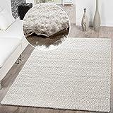 T&T Design Shaggy Teppich Hochflor Langflor Teppiche Wohnzimmer Preishammer versch. Farben,...