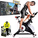Sportstech Profi Indoor Cycle SX500 – Deutsche Qualitätsmarke -Video Events & Multiplayer APP,...