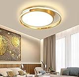 Deckenleuchte Wohnzimmerlampe LED Deckenlampe Dimmbar 3000K-6500K Modern Rund Ring Design Lampen...