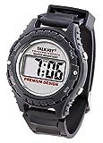 Premium Sprechende Sport Armbanduhr Sprachfunktion Zeitansage Uhr für Blinde Wasserfest großes LCD...