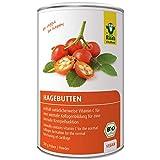 Raab Vitalfood Bio Hagebutten-Pulver, ohne Zusätze, vegan, mit natürlichem Vitamin C für eine...