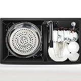 MWPO Küchenspülen Quarzsteinspüle Küchenspüle Granitspüle Set Doppelter Trogpool auf der...