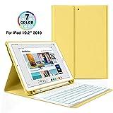 Strnry Tastaturhlle Fr Ipad 10.2 2019 Drahtlose Bluetooth-Tastaturhlle Der 7. Generation,Abnehmbare...