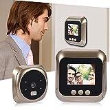 Naroote Viewer Kamera Türklingel, 2,4-Zoll-HD-Bildschirmanzeige Home Smart Türklingel...
