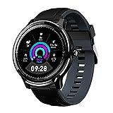 Smartwatch Bluetooth Herren Männer Gokoo IP68 Wasserdicht Fitness Full-Touchscreen Sport mit...