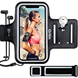 Sportarmband Handy fr iPhone 11 Pro Max/11/iPhone XS Max/XR/iPhone 7/8 bis zu 6.1', Gritin...