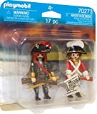 PLAYMOBIL DuoPacks 70273 Piratenkapitän und Rotrock, ab 4 Jahren