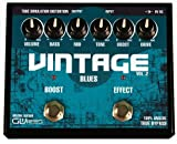 GWIres GVB3 Vintage Blues Distortion and Boost Gitarrenpedal, Schwarz