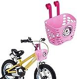 SOULBEST Kinder Fahrradkorb Lenkerkorb für Fahrräder Kinder Einfacher Clip auf Abnehmbarer Vorne...