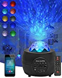 CreBeau LED Sternenhimmel Projektor Licht, mit Fernbedienung und Timer, Bluetooth Lautsprecher,...
