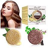 Haar Shampoo Bar, Anti Haarverlust Seife, Festes Shampoo, Reise Haarpflege, Organisches Pflanzliches...