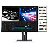 ZZYH 32-Zoll-4K-QHD-IPS-Monitor (3840 * 2160), HDMI, Sensor Für Das Home Office (10-Bit-Panel, SRGB...