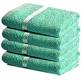 Towelogy® Luxuriöses Waschlappen-Set aus ägyptischer Baumwolle, Flanell,...